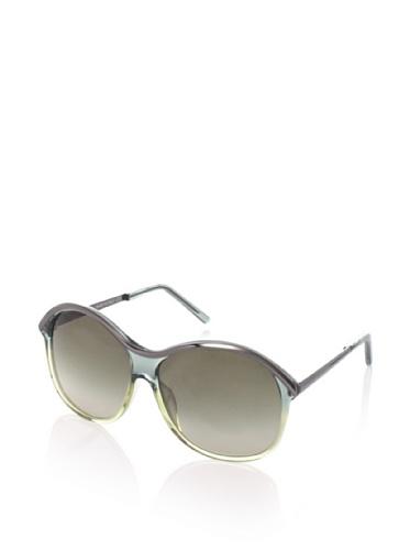 Gianfranco Ferrè Women's GF951-04 Sunglasses, Green/Gunmetal