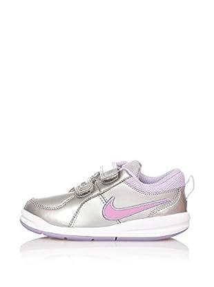 Nike Zapatillas Pico 4 (Tdv) (Plata / Lila)