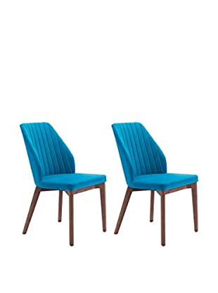 Zuo Set of 2 Vaz Chairs