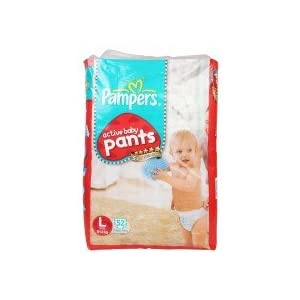 Pampers Active Baby Pants - Large