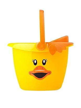 VIGAR Cubo De Fregona Ducks Kids Amarillo
