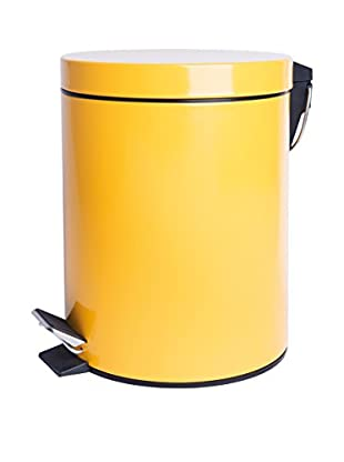 Mülleimer 5 L gelb