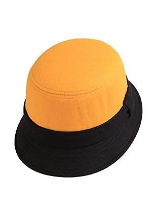 Lancaster Sombrero  Cloche Naranja