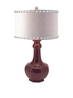 Essentials Irresistible Ceramic Table Lamp, Purple