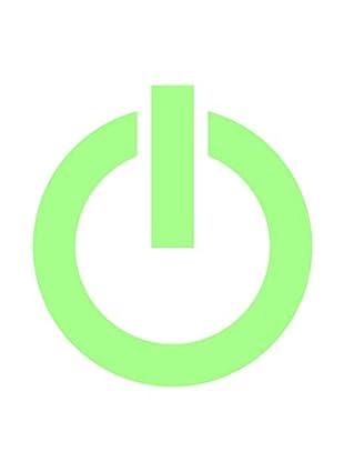Ambiance Sticker Wandtattoo Fluorescent Power On