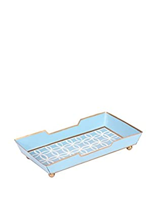 Jayes Rings Guest Towel Tray, Blue