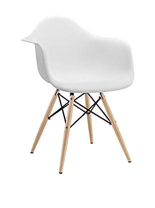Modway Wood Pyramid Arm Chair