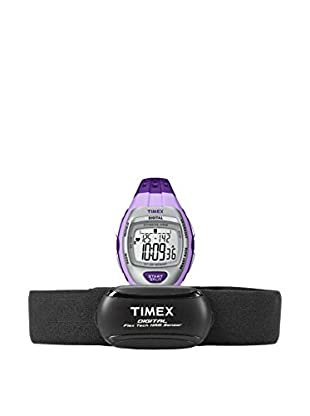 TIMEX Reloj de cuarzo Woman Zone Trainer HRM Violeta 36 mm