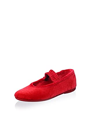 Cienta Kid's Slipper (Red)