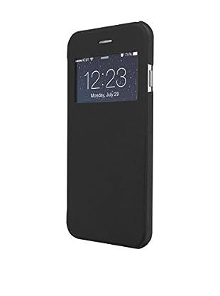 UNOTEC Hülle Flip-S iPhone 7 schwarz