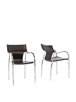Baxton Studio Set of 2 Harris Dining Chairs