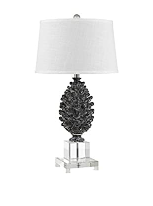 Bristol Park Lighting Pinecone Resin/Crystal 1-Light Table Lamp, Pine Cone