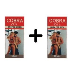 Cobra Oil 1+1 Combo Offer
