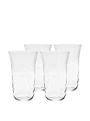 Padma Collection Set of 4 Optic 20-Oz. Highball Glasses, Clear