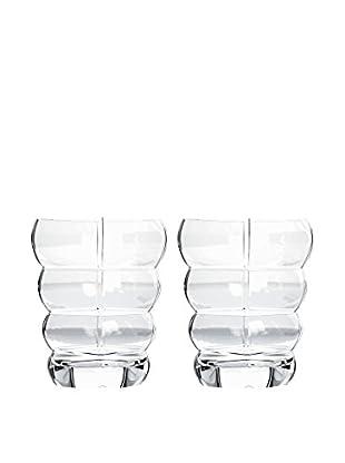 Rogaška Set of 2 Adria 12-Oz. Highball Glasses, Clear
