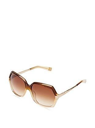 Trussardi Gafas de Sol 12809_BR-58 (58 mm) Marrón / Beige