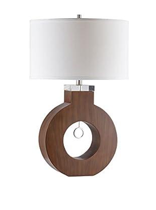 Nova Lighting Oh Table Lamp, Brown