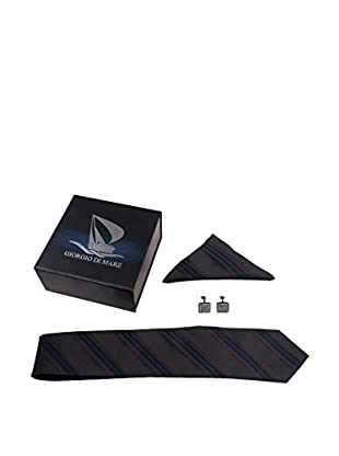 GIORGIO DI MARE Set Cravatta + Fazzoletto + Gemelli