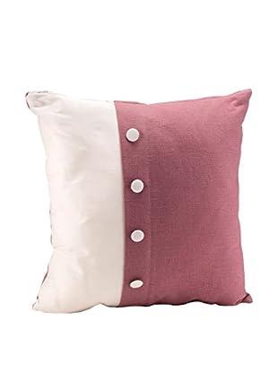 Braid Concept Kissen elfenbein/rosa
