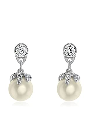 Passion Obscure Pendientes Strass And Pearls