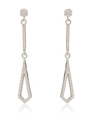 ANDREA BELLINI Ohrringe Losanges Séduction Sterling-Silber 925