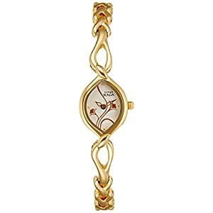 Titan Raga Analog Silver Dial Women's Watch - NE2455YM01