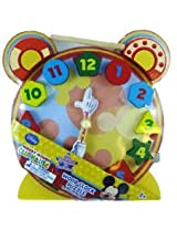 Cardinal Disney Wood Clock Puzzles, Multi Color
