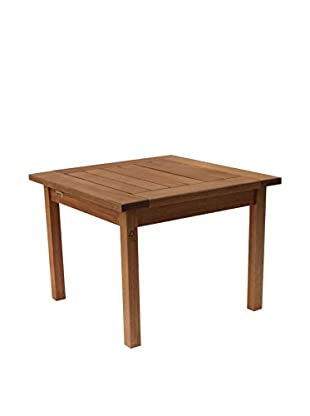 Amazonia Milano Eucalyptus Side Table, Brown