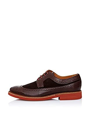 Animas Code Zapatos Brogue (Marrón Oscuro)