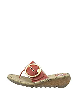 Fly London Sandalias Trim (Rojo)