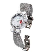 Exotica Analog White Dial Women's Watch (EFL-02-Rose)