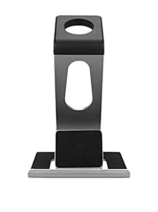 iPM Aluminum Alloy Dual Apple Watch Stand & iPhone Dock, Silver