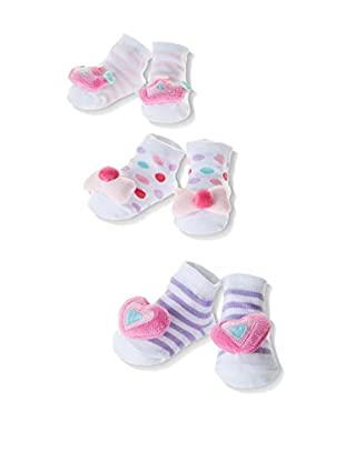Pitter Patter Baby Gifts 3tlg. Set Socken