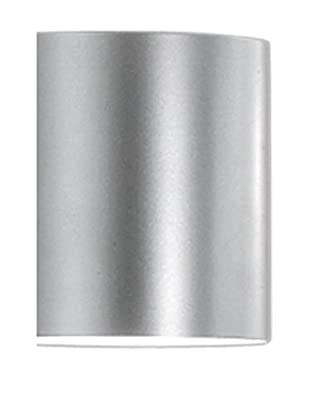 Martinelli Luce Lámpara De Pared Tube 14 Blanco Ø14 H 20cm