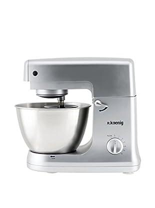 H.koenig Küchenmaschine Multifunktion KM60S grau