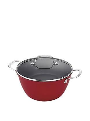 Cuisinart Castlite Nonstick 5.25-Qt. Dutch Oven with Cover, Red