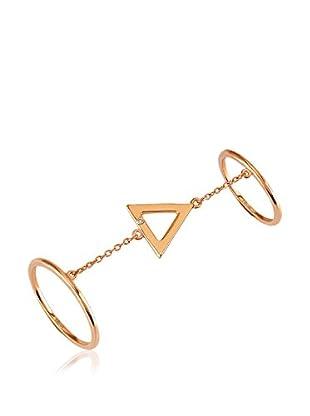 Divas Diamond Anillo Triángulo (Oro)
