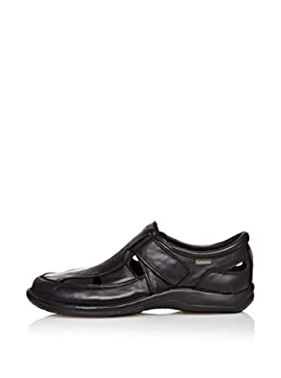 CallagHan Sandalias Velcro (Negro)