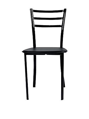 TUONI Stuhl 4er Set Bibi schwarz