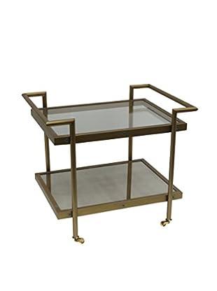 Bassett Mirror Company Fouquet Rectangular End Table