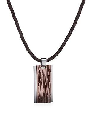 Esprit Collar Esprit Steel Embers Plateado / Marrón