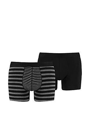 Puma 4tlg. Set Boxershorts Striped Color Block