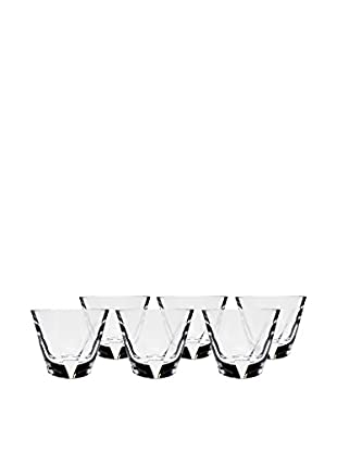 Ricci Set of 6 Triangolo Double Old Fashioned 8-Oz. Glasses