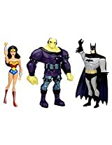 Exclusive JLU Three-Pack - Wonder Woman Mongul Batman