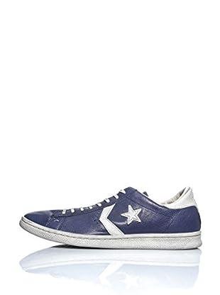 Converse Zapatillas Pro Leather Varvatos Ox (Azul / Blanco)