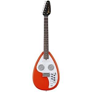 VOX ヴォックス アンプ/スピーカー/リズム機能内蔵 エレキ・ギター APACHE-I Salmon Red アパッチ ティアドロップ型