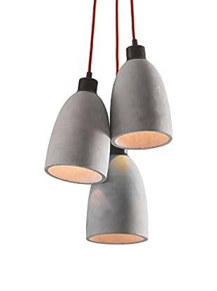 Zuo Fancy Ceiling Lamp, Concrete Gray