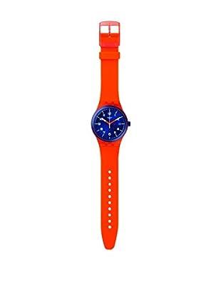 Swatch Reloj automático Unisex Sistem Tangerine  42 mm