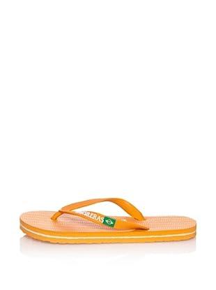 Brasileras Chanclas Basic (Naranja)