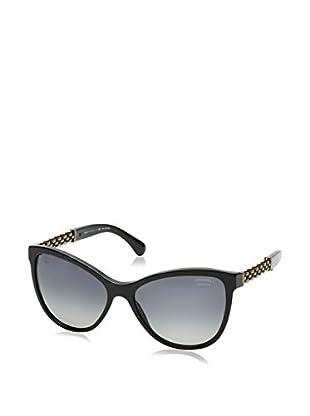 Chanel Sonnenbrille Polarized 5326501/S8 (58 mm) schwarz